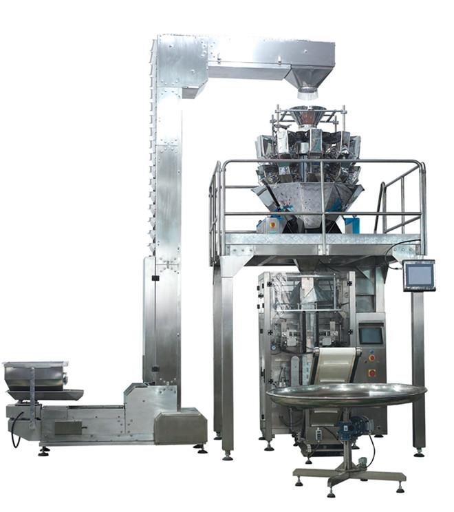 荷兰豆包装机 蔬菜自动称重立式包装机 包装机械厂家直销 可定制