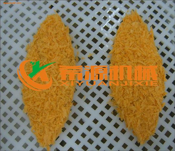 隧道式黄金鸡排裹面包糠挂屑机哪家有