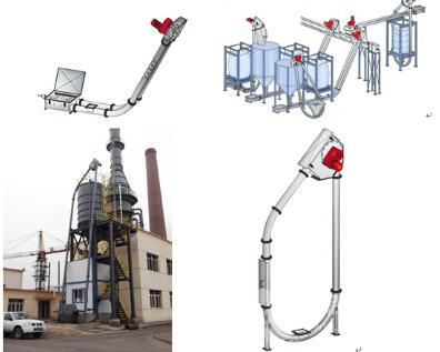 管链输送机生产厂家厂家 倾斜管链输送机邯郸