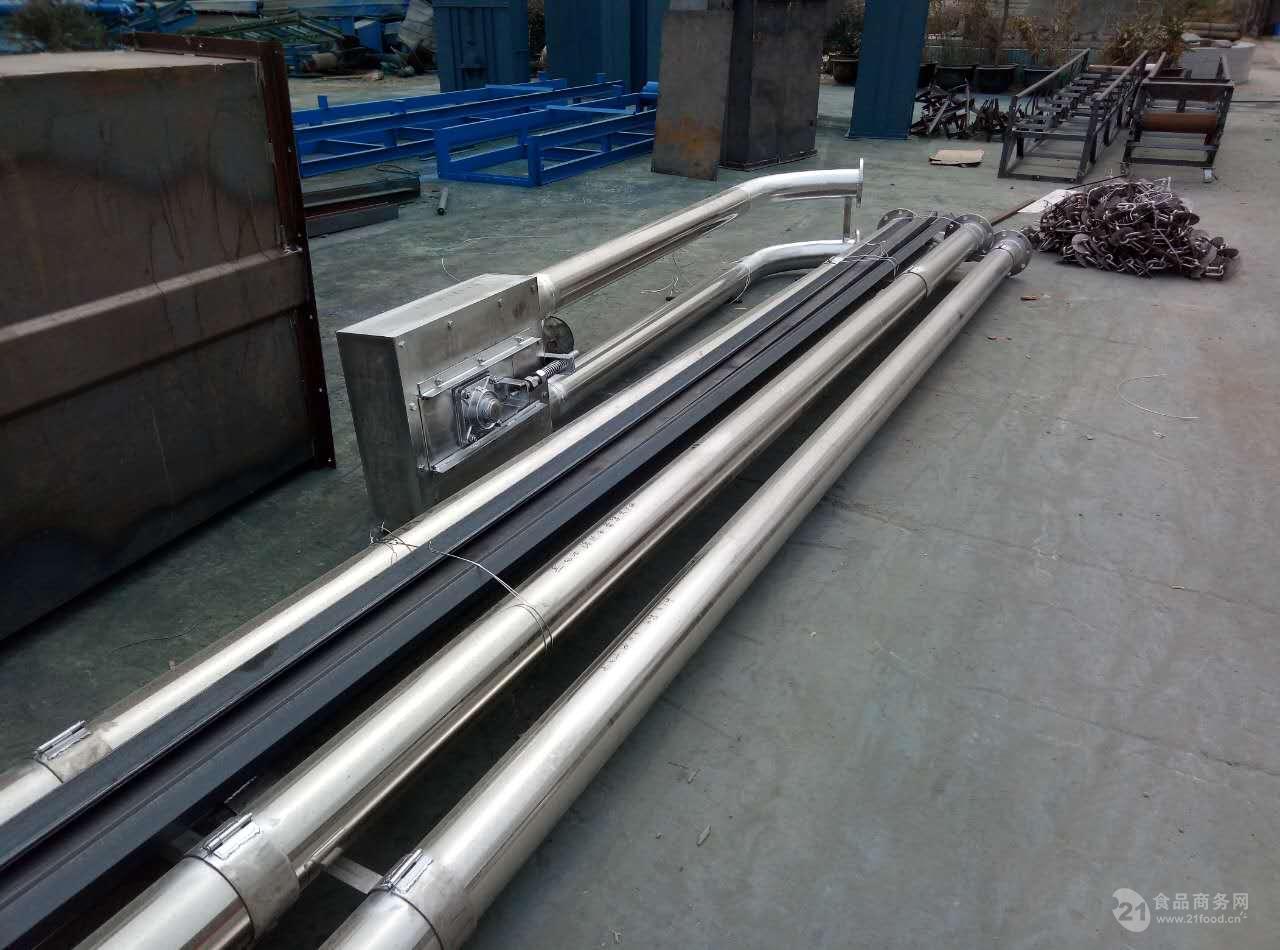 自动管链输送机密封好专业生产 石灰粉盘链提升机昆山