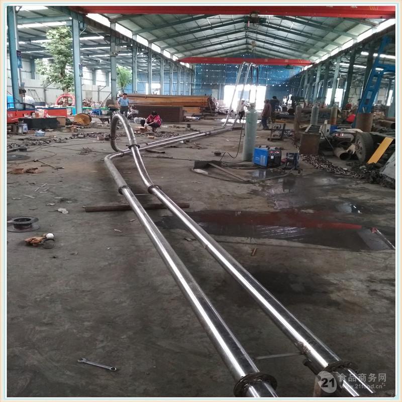 兴运管链输送机厂家新品 粉煤灰提升机邯郸