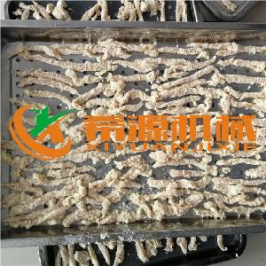 鸡柳条裹浆裹粉机 鸡柳裹面包糠设备
