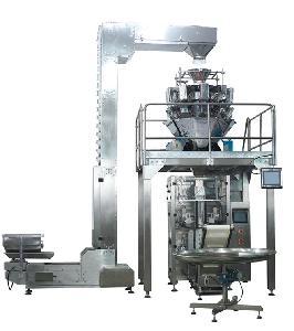 蒜头立式包装机械 自动送料称重计量包装机 山东大蒜立式包装设备