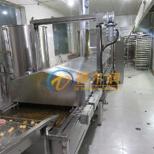 得尔润 D-6牛肉丸子油炸流水线 不沾型智能化生产设备