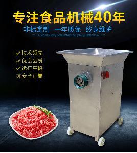 供应海川湖台式肉枣绞肉机 绞肉机厂家直供