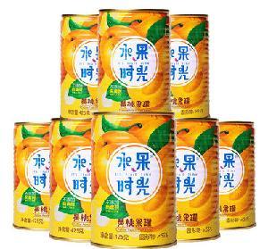 水果时光黄桃罐头425g*8罐价格多少钱