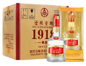 1918精酿52度浓香型白酒500ml*6瓶