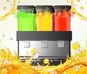 艾科仕德饮料机三缸冷热双温全自动