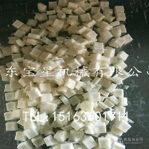 土豆块加工设备 隧道式速冻机 山东宝星制造