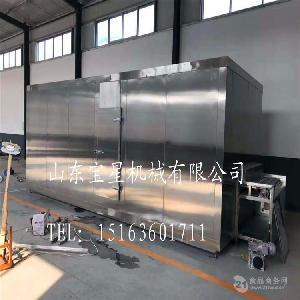 超低温流态化肉丸速冻机 超短时间速冻