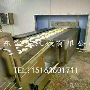 超短时间速冻水饺--山东宝星牌 WDSX-500型隧道式速冻机