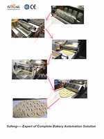 有多种形状的自动甜甜圈滚切机——煜丰