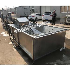厂家直销优质全自动智能型泥鸭蛋水鸭蛋清洗机