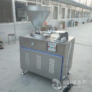 不锈钢风干肠液压灌肠机 加工风干肠液压灌肠机图片