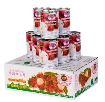 双象地球牌红毛丹罐头565g*12罐哪里有卖价格多少钱
