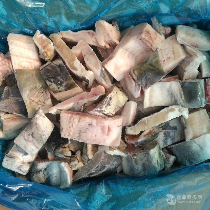 供应安徽三珍食品冷冻鮰鱼块 厂家直销
