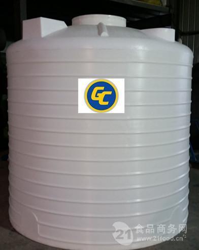 5吨室外防晒水塔 5000升5立方5T塑料水箱 盐酸罐