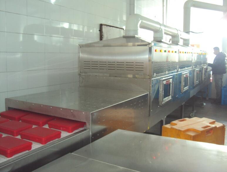 新一代热链盒饭加热机(学生餐专用)