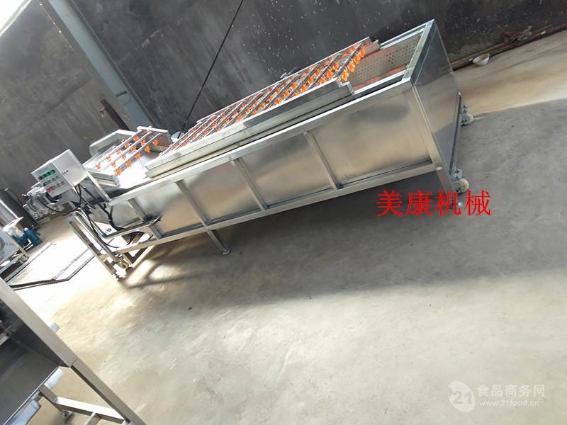 武汉鸭脖气泡清洗机  卤制品气泡解冻机 海产品脱盐设备
