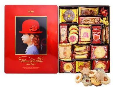红帽子礼盒曲奇饼干536g