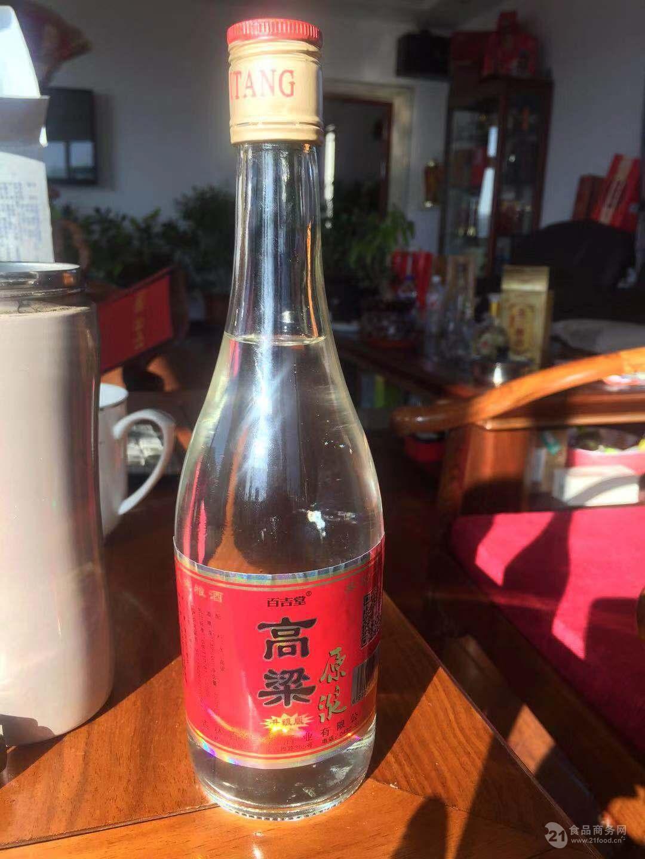 吉林百吉堂酒业红高粱原浆酒42°