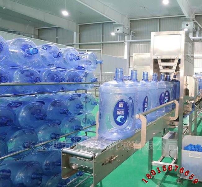 饮用桶装水生产设备 18.9L矿泉水灌装设备 大桶水加工设备