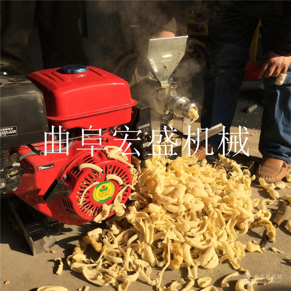 玉米膨化机供应休闲食品面粉膨化机