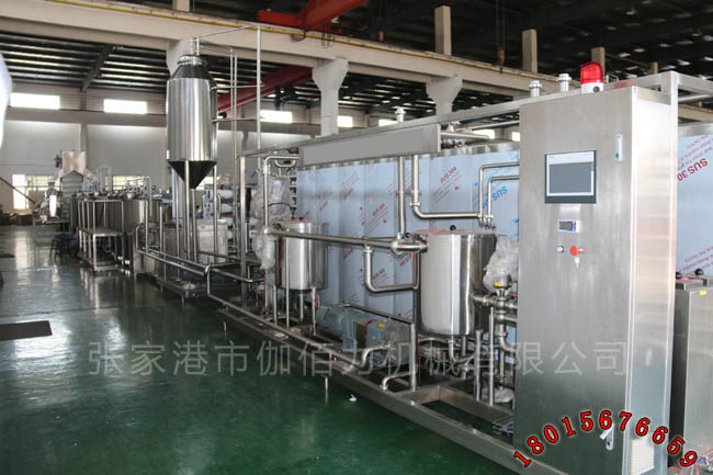 瓶装果汁饮料生产线