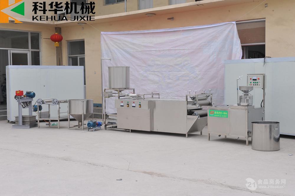 自动生产豆腐皮的机器  豆腐皮机器多少钱一台