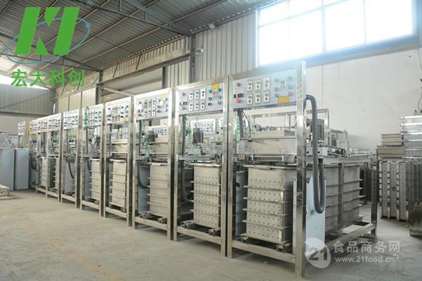 豆腐皮豆干都可生产的设备仿手工豆腐皮机设备 宏大