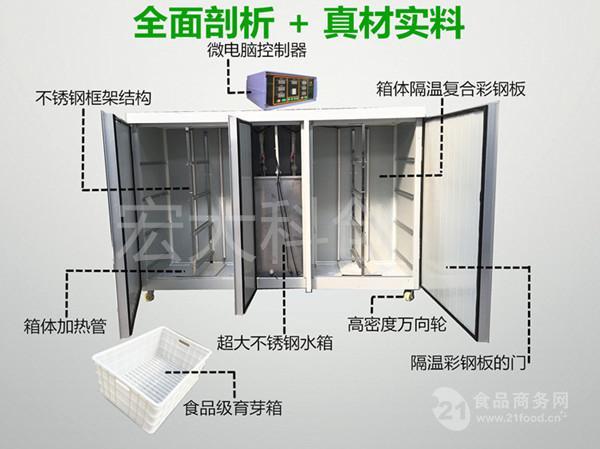 豆芽机购买指南-宏大科创 自动控温淋水豆芽机 厂家直销