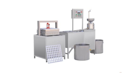 广西小型自动豆干机生产厂家,生产豆腐干的机器