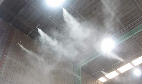 自动喷雾除尘装置