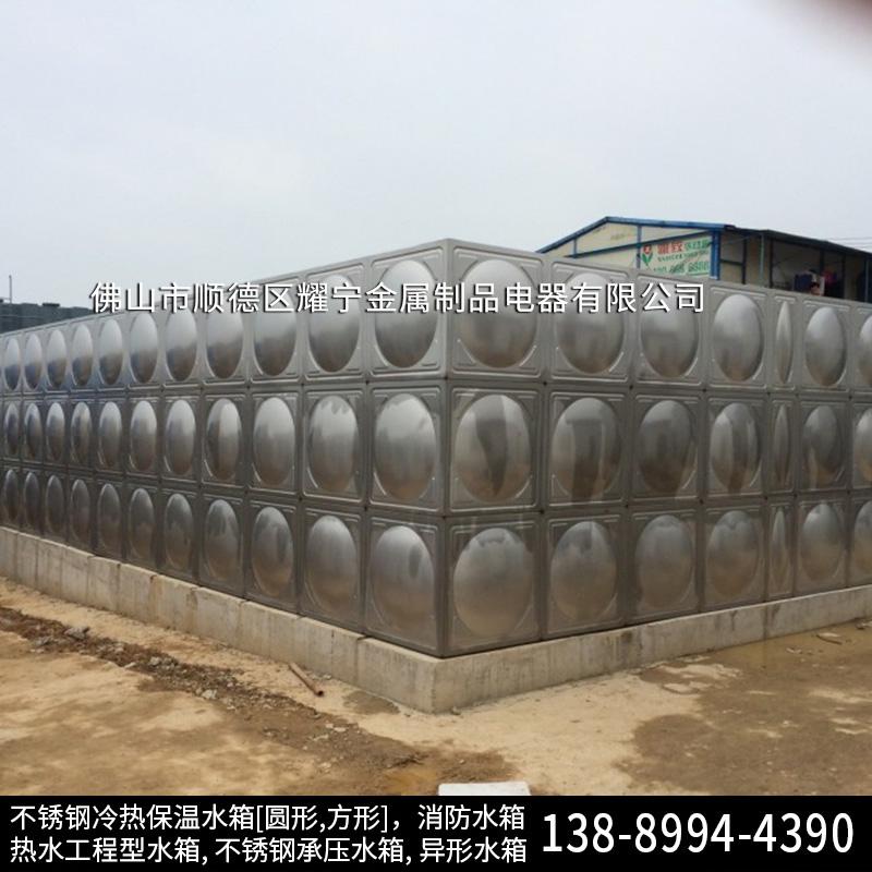赣州不锈钢保温水箱 消防水箱配置 不锈钢保温水塔
