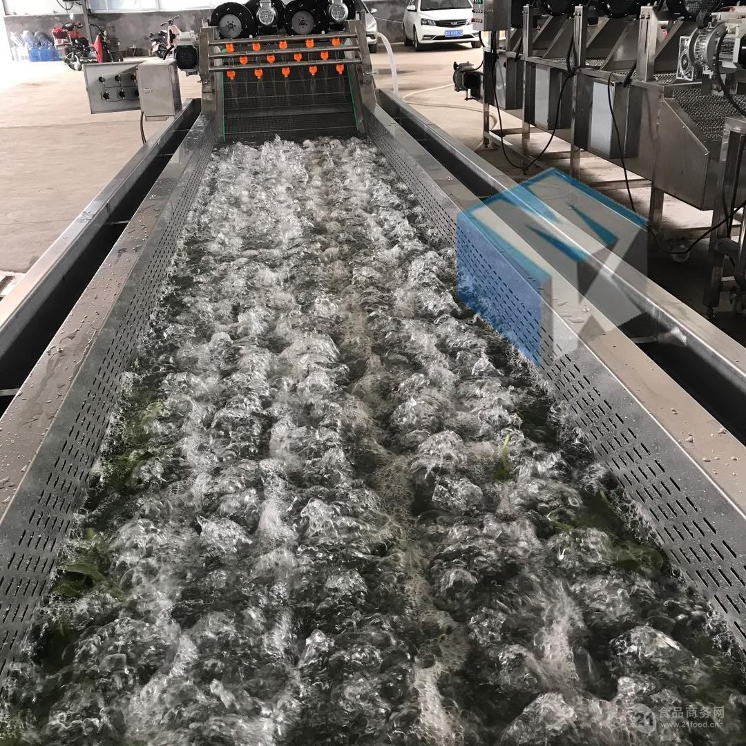 蔬菜清洗机 蔬菜加工设备 净菜加工流水线