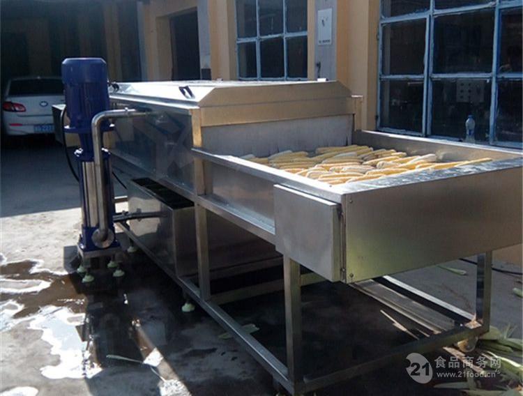 专业生产滚杠式玉米清洗机  粘玉米深加工设备