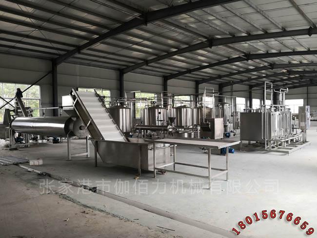 胡萝卜汁成套饮料生产线 玻璃瓶饮料灌装机