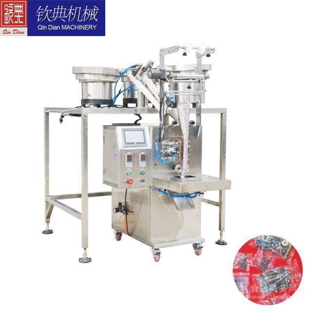 上海钦典直销五金螺丝钉包装机