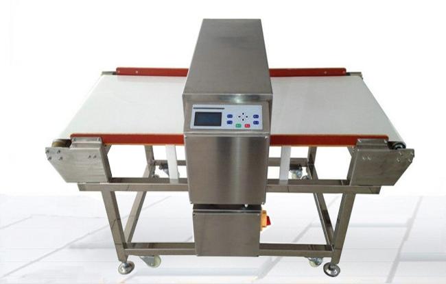 厂家供应牛羊肉熟食食品输送式金属检测机
