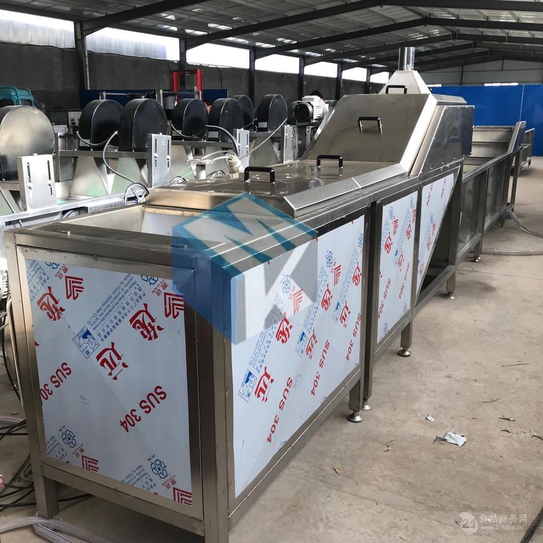 玉米蒸煮机  厂家生产果蔬蒸煮流水线  全自动卤制品蒸煮设备