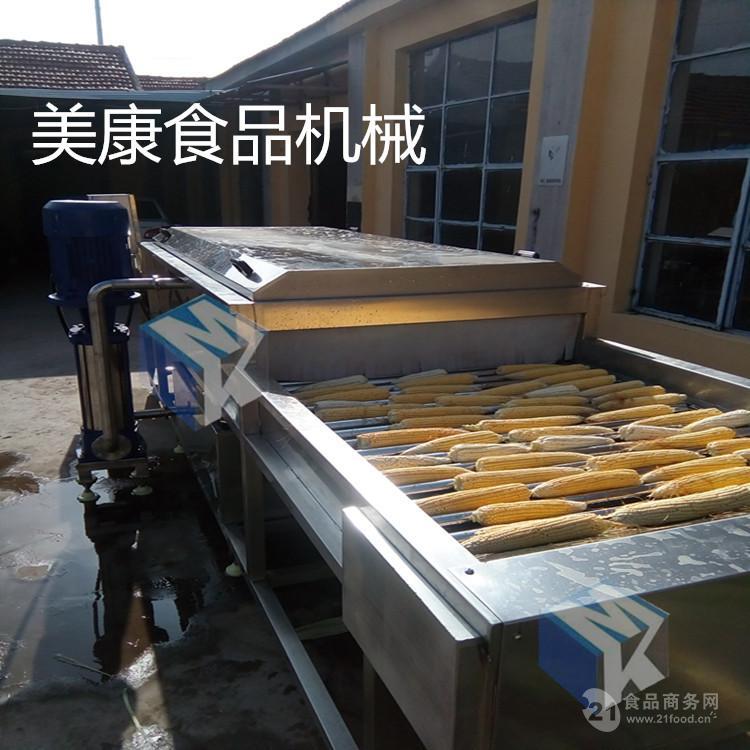 辽宁黑玉米清洗机  专业生产滚杠式玉米清洗设备诚招代理