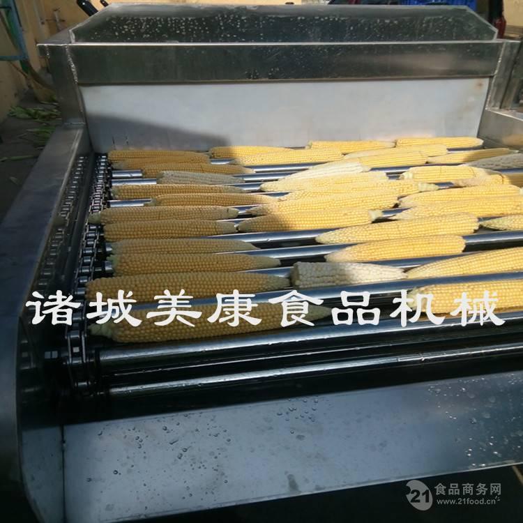 自动玉米棒清洗机 速冻玉米去须清洗机设备价格