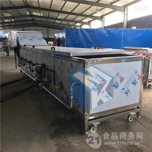 供应鲜食玉米专用蒸煮机 玉米蒸煮冷却设备