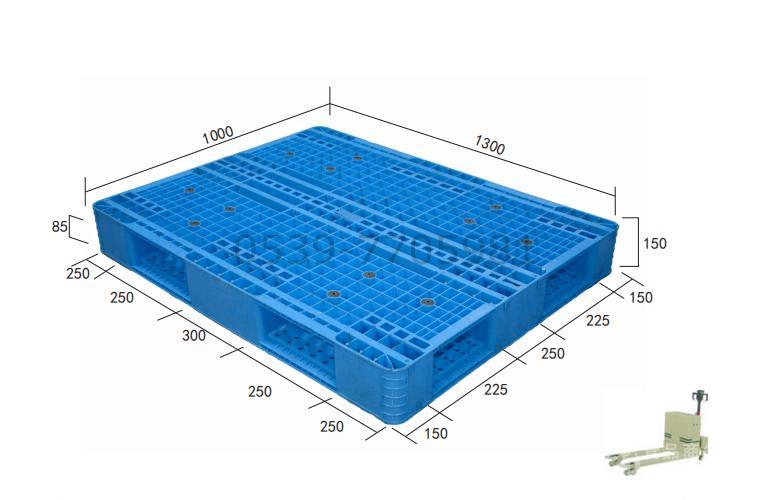 山东托盘厂 生产销售1311  双面网格塑料托盘