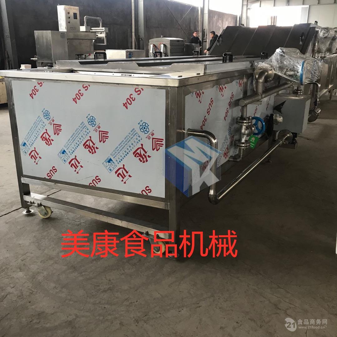 新型全自动肉制品蒸煮机 卤制品卤煮流水线设备