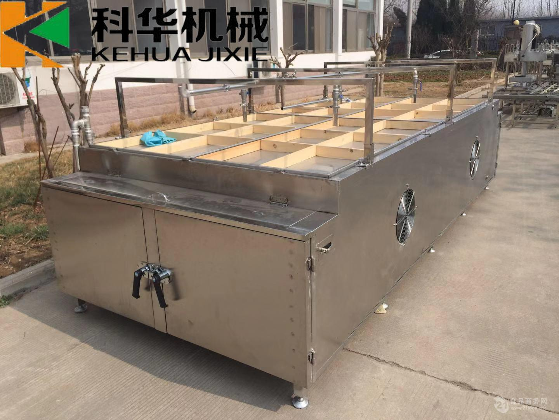 广西半自动手工烘干一体腐竹油皮机,自带烘干系统的半自动腐竹机
