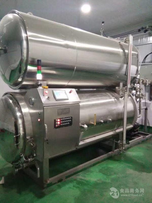 卤猪蹄食品专用杀菌锅 肉制品厂专用杀菌设备
