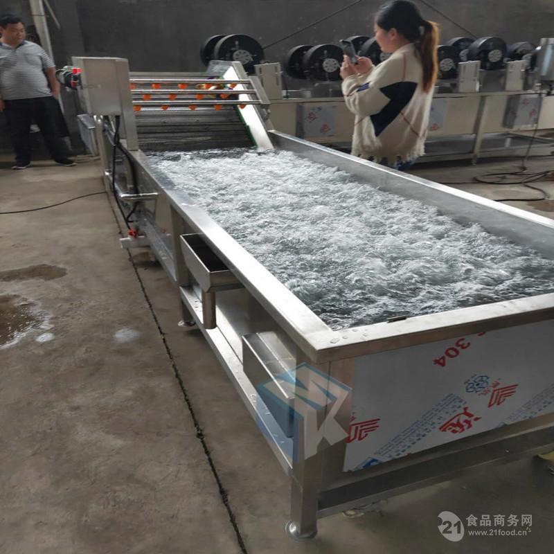 专业生产肉制品恒温解冻设备 冷冻带鱼气泡解冻机便宜