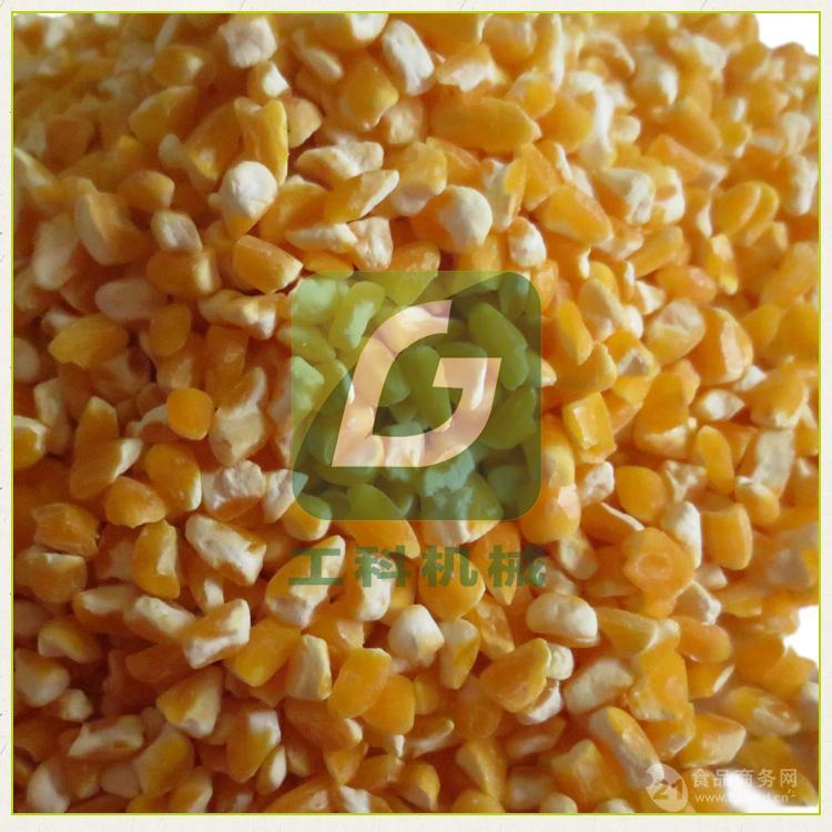 曹县单机式玉米脱皮制糁机 广西玉米脱皮制糁机