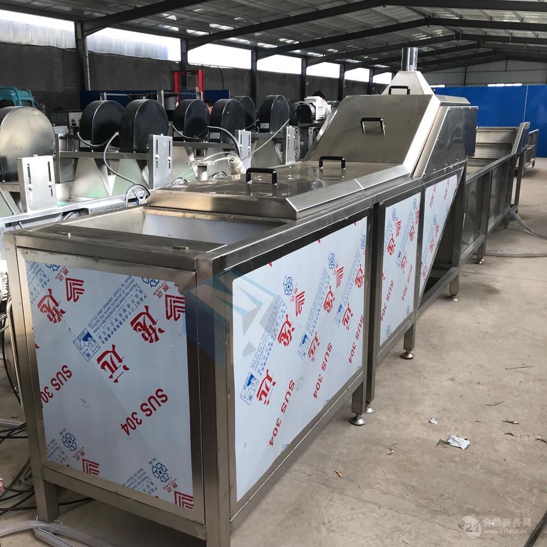海产品蒸煮机 牡蛎蒸煮漂烫一体机价格便宜